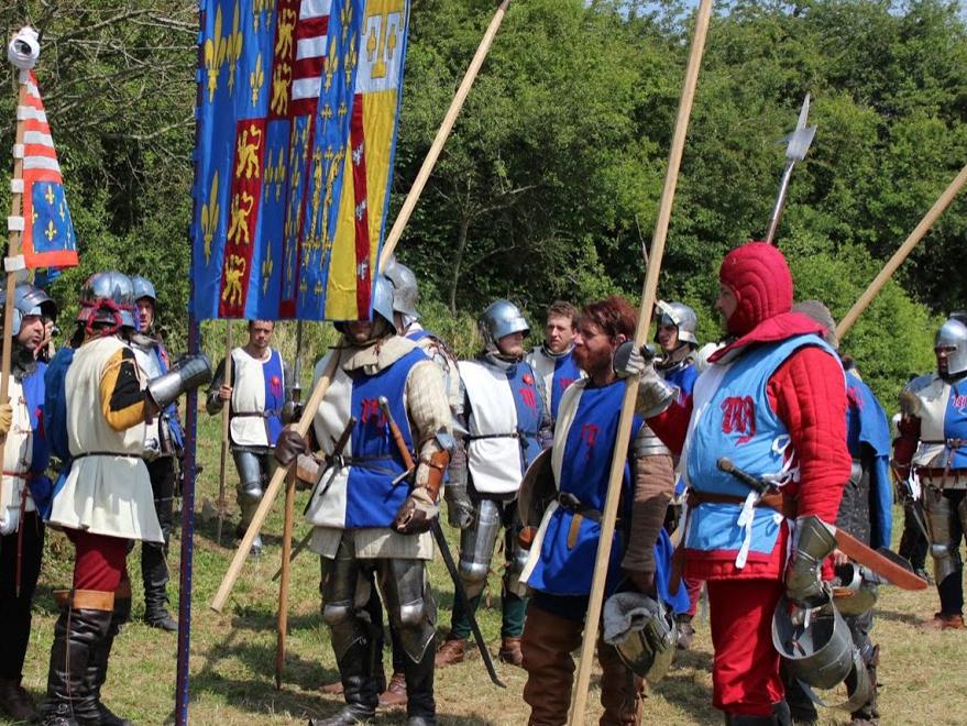 Départ pour la bataille (Tewkesbury, Angleterre)